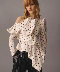 2019 Новое поступление, Осенние блузы в горошек и рубашки