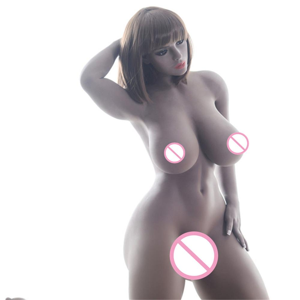 Top Quality Real <font><b>Silicone</b></font> <font><b>Sex</b></font> <font><b>Dolls</b></font> Lifelike Full Big Breast Love <font><b>Doll</b></font> Oral Vagina Pussy Adult Sexy Toys for Men <font><b>sex</b></font> <font><b>doll</b></font> image