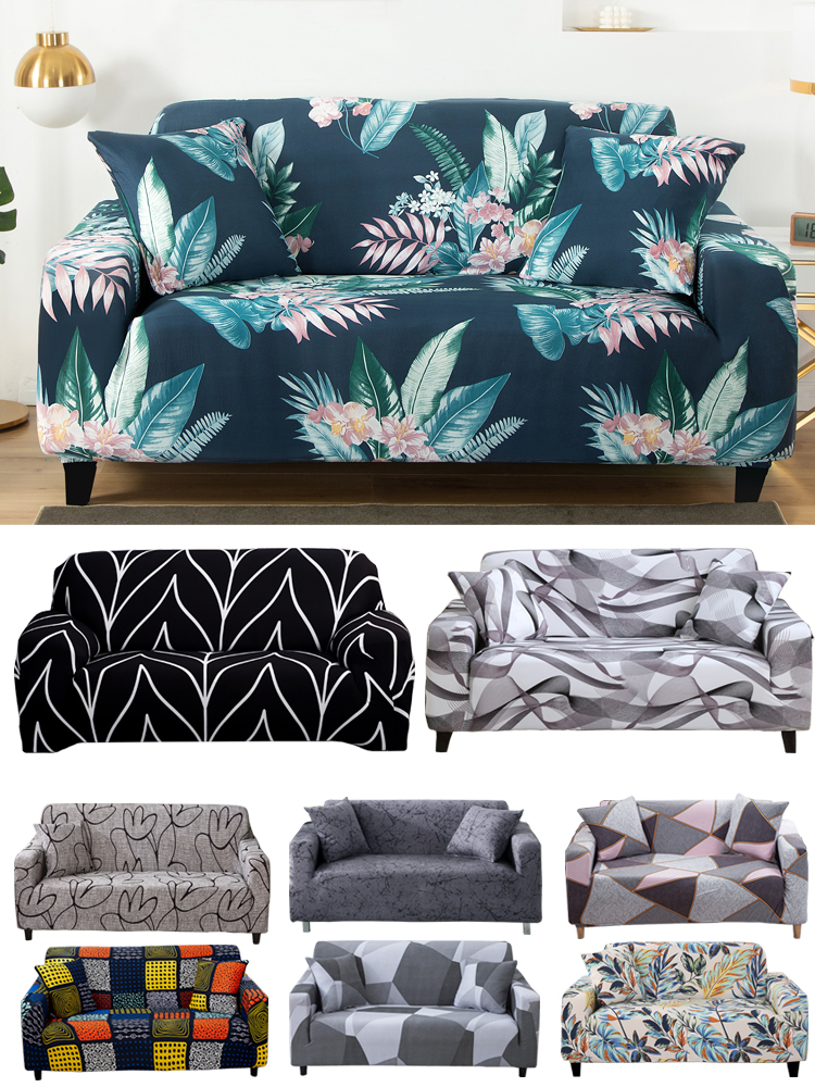 Couch-Case Slipcovers Loveseat-Chair Sofa Stretch Elastic All-Inclusive for Different-Shape