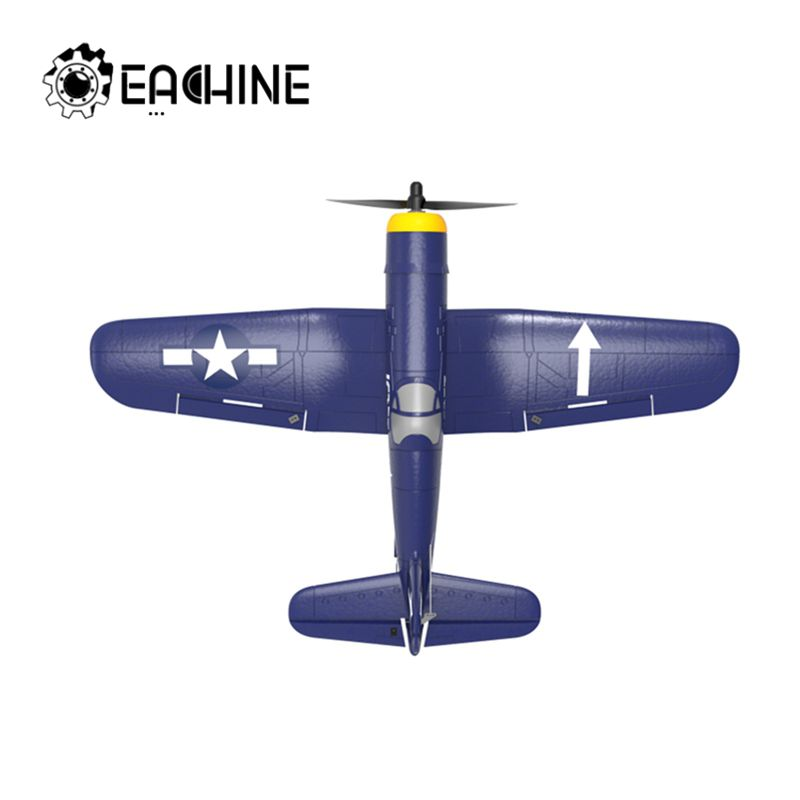 Eachine F4U 761-8 400mm Wingspan EPP One-key Aerobatic RC Airplane RC Plane with 2.4Ghz 4CH Remote Control image