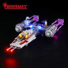 BriksMax светодиодные комплект для 75249 Звездные войны сопротивления г-крыло истребитель игрушки строительные блоки модель комплект освещения
