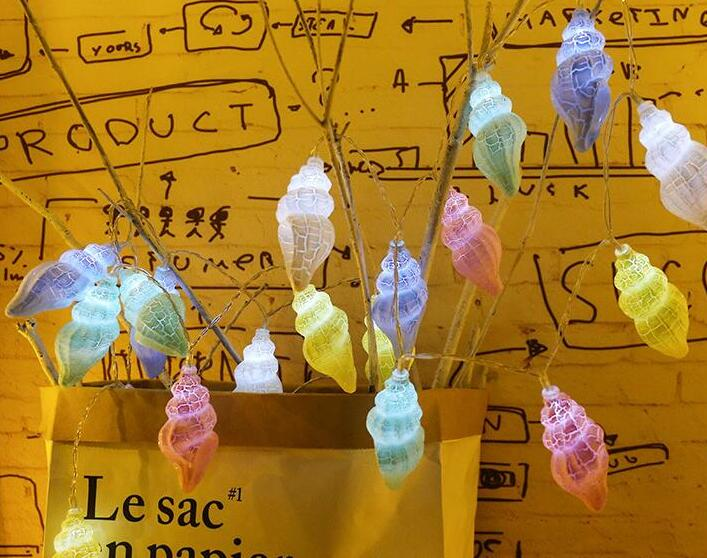 LED String Light Crack Color Lamp Christmas Decoration Lamp Battery String 1.5m 10 Led