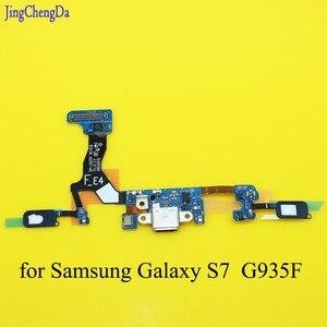 Substituição De Carregamento Cabo Flex para Samsung Galaxy S7 JCD borda G935F G9350 Microfone Tomada Porta USB Conector Dock Conectores     -