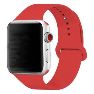 Image 5 - 10pcs/lot 38Color Single buckle Silicone watchband for Apple i Watch 38/40/42/44mm Wrist Strap bands 1/2/3/4 Smartwatch band
