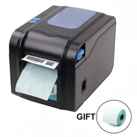 Label Barcode Printer Thermal Receipt Printer Print Bill Machine 20mm to 80mm with Auto Peeling support adhesive sticker paper