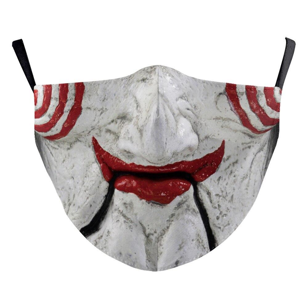 ผ้าปิดปากแฟนซี แมสแฟชั่น หน้ากากน่ากลัว ป้องกันฝุ่น มีหลายสิบแบบ สำหรับผู้ใหญ่ และเด็ก คอสเพย์