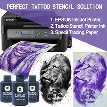 Новый Технология fedex Бесплатная доставка тату трафарет принтера