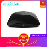 BroadLink RM4 pro IR et RF télécommande universelle, tout en un Hub Code apprentissage WiFi télécommande pour la maison intelligente et le divertissement