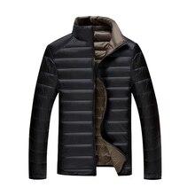 5XL 6XL 7XL 90% Weiße Ente Unten Jacke Winter Warme Jacke Mantel männer Dünne Ultraleicht Unten Jacken Männer Outwear mäntel