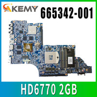 665342 001 Free Shipping Laptop Motherboard For HP Pavilion DV6T DV6 6000 motherboard HD6770 2GB Notebook PC Tested OK