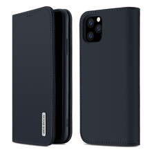 купить For iPhone 11 Pro 11 Pro Max Case Vintage Genuine Leather Flip Stand Magnetic Wallet Cover For iPhone 11 Case Card Slots Holder дешево