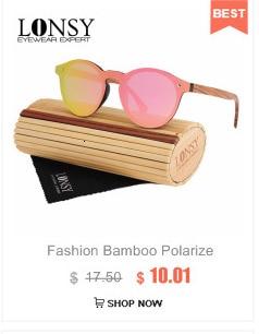 Солнцезащитные очки с бамбуковыми дужками для мужчин и женщин