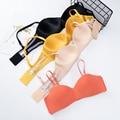 Neue Sexy Mode Nahtlose Bhs für Frauen Push Up Dessous Bh Halbe Tasse Draht Freies Büstenhalter Weibliche Unterwäsche Intimates