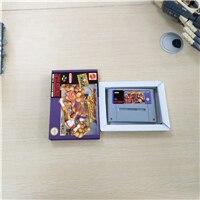 لعبة Street Fighter II Turbo إصدار EUR ، بطاقة أكشن مع صندوق بيع بالتجزئة