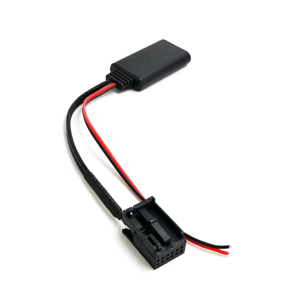 Auto AUX-IN Adattatore Audio BT Stereo di Musica Adattatore di Ricambio per Opel CD30 CDC40 CD70 DVD90