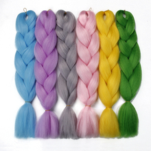 braiding hair extensions synthetic hair 100g/Pack 24 inches
