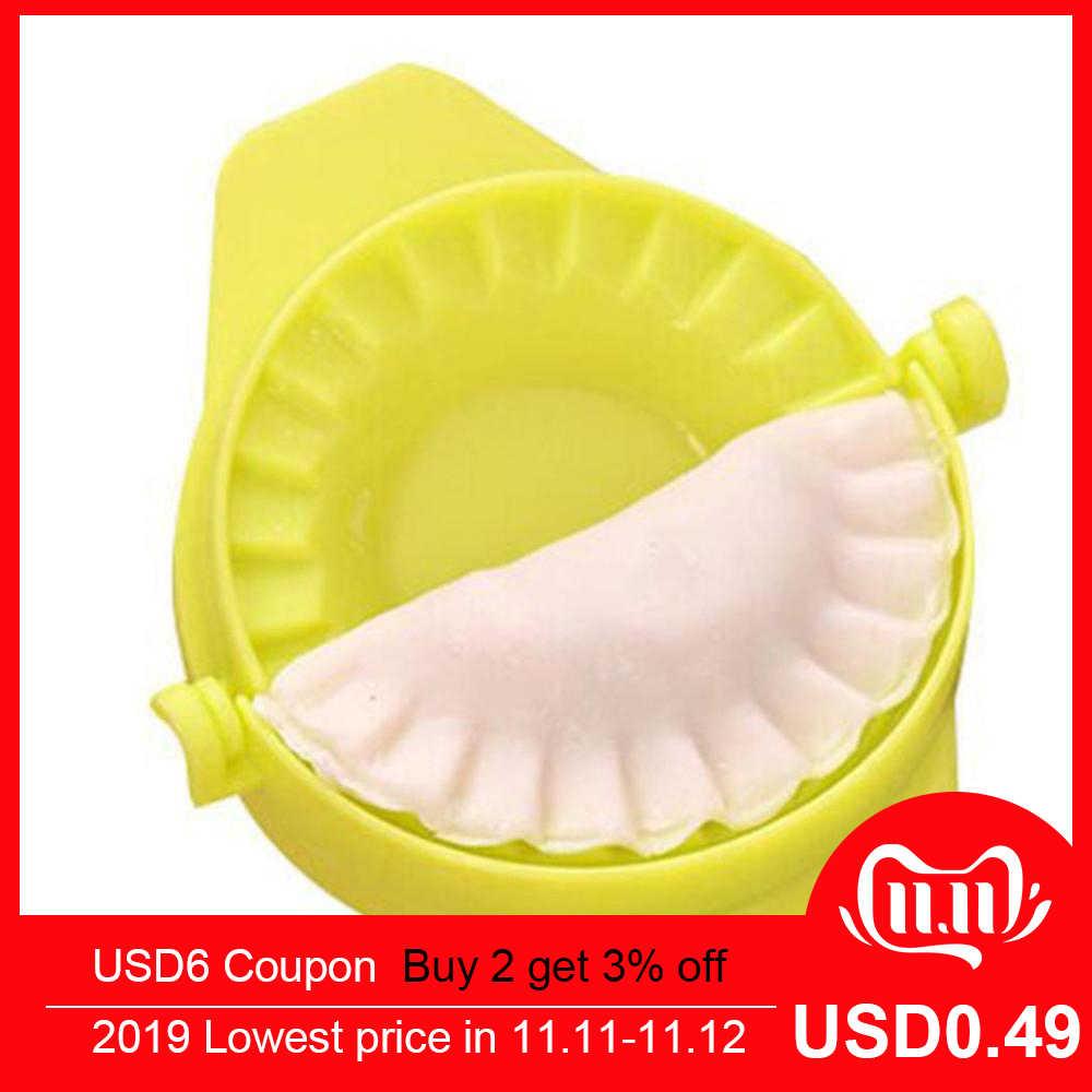 Máquina para hacer moldes de Dumpling, herramientas de cocina para hornear pasteles, accesorios, buen dispositivo de fabricante Jiaozi DIY