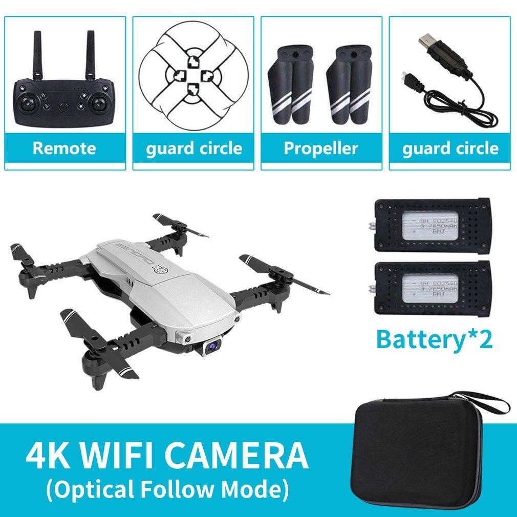 LANSENXI-NVO RC Drone 4K 1080P Quadcopter 2 4GHz WiFi FPV Foldable mini drones Real-time Transmission camera dron Quadcopter