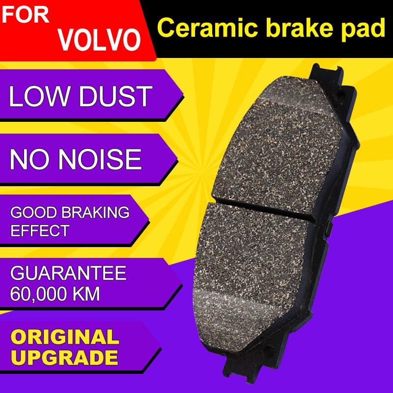Plaquettes de frein en céramique avant et arrière de voiture, garnitures de sabot de frein, bloc de frein pour VOLVO S90 (2017-2019) 2.0T T4 2.0T T5