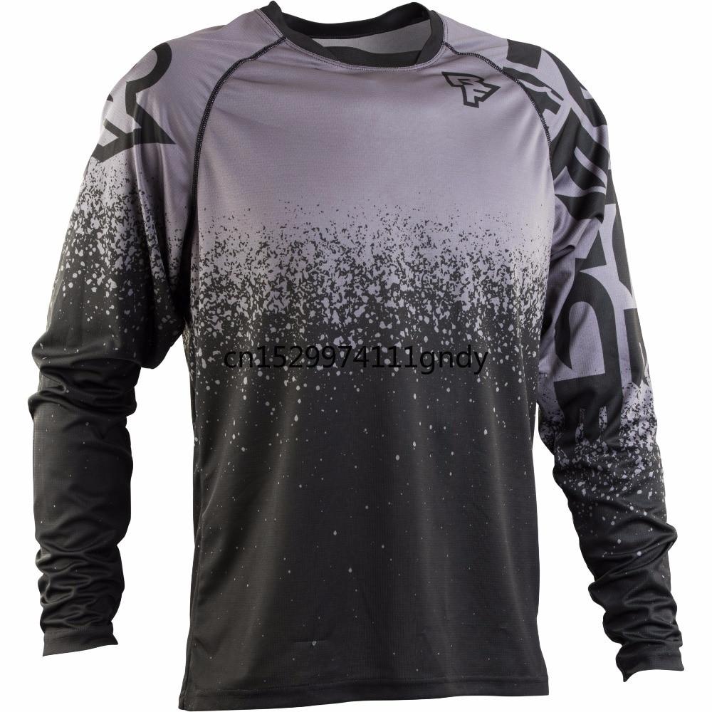 Motocross Jersey  2019 Enduro Downhill Jersey Mountain Bike Racing Clothing Men MTB Shirt Long Moto Jersey GP Motocross T Shirt