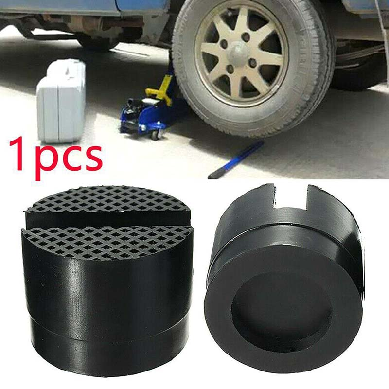 Universal Car Parts Rubber Support Pad Car Slotted Frame Rail Floor Jack Adapter Lift Rubber Pad 1 Pcs