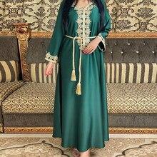 Abaya – Robe Longue musulmane pour femmes, vêtements européens, islamique, dubaï, turquie