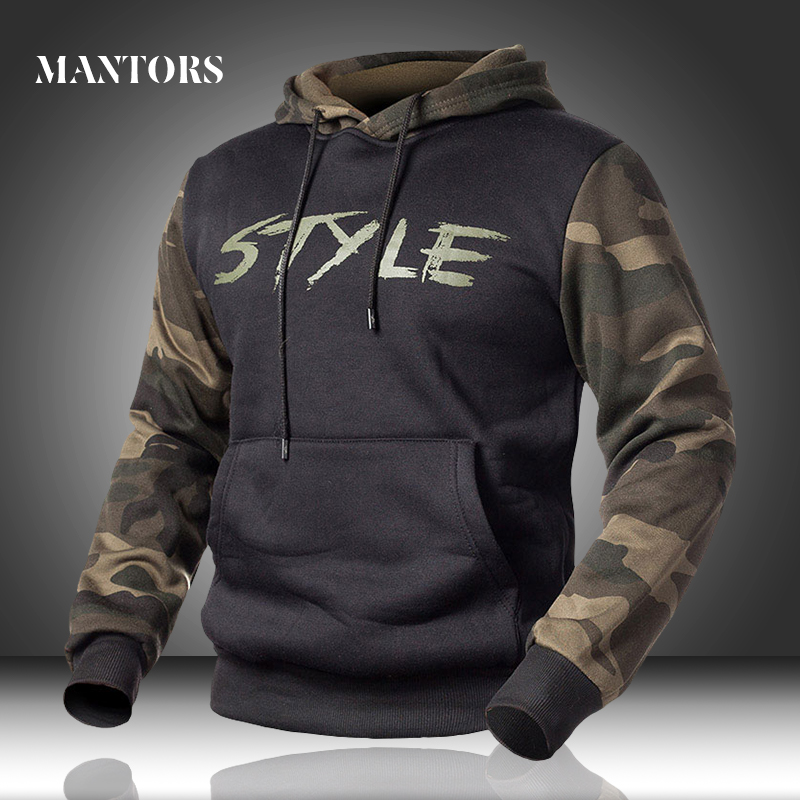 Men Hoodies Camouflage Casual New Men's Sportswear Military Sweatshirts Spring Male Loose Camo Hooded Pullover Fleece Clothing