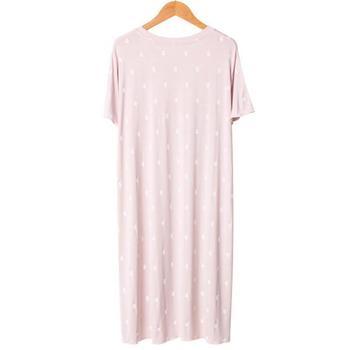 Soft Modal Sleepwear Summer Autumn New Nightgown Women Cute Nightdress Nightwear Casual Home Dressing Gown Intimate Lingerie