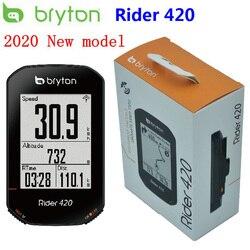 Bryton Rider 420 GPS велосипедный компьютер с поддержкой велосипеда/велосипеда компьютер и Bryton крепление водонепроницаемый беспроводной Спидометр...