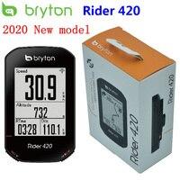 Bryton rider 420 gps ciclismo computador habilitado bicicleta/bicicleta computador e bryton montar velocímetro sem fio à prova dwireless água novo 2020