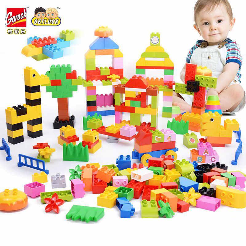 Kids Building Blocks Construction Brick Educational Toy Compatible W// Big Brands