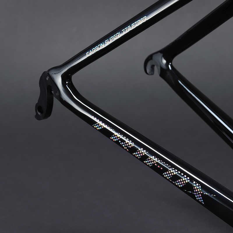 2019 TRIFOX cadre de route en carbone cadre de vélo 29er sl6 cadre de vélo caméléon en fibre de carbone course BB68 27.5 disque cadre en fibre de carbone