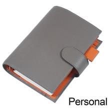 Lederen Notebook Organisator Ringen Bindmiddel Planner Cover Persoonlijke Size Dagboek Dagboek Schetsboek Agenda Met Grote Pocket