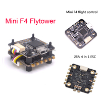 Mini F3 / F4 Flytower Flight control Integrated OSD 4 in 1 Built in 5V 1A BEC 25a ESC Support Dshot For FPV RC Drone|Parts & Accessories|Toys & Hobbies -