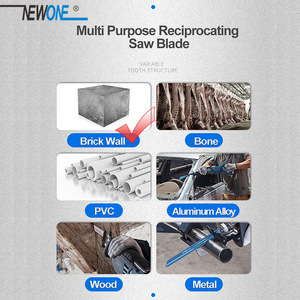 Image 2 - Reciprocating Saw Blade Cutting TCT Brick Stone With Carbide Teeth Demolition Masonry Saber Saw Power Tools Accessories NEWONE