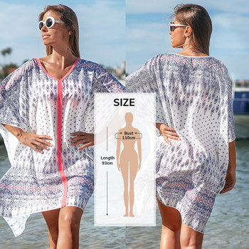 CUPSHE White Crochet Bikini Cover Up with Fringe Trim Women Sexy Hollow Tunic Beach Dress 2021 Summer Bathing Suit Beachwear 19