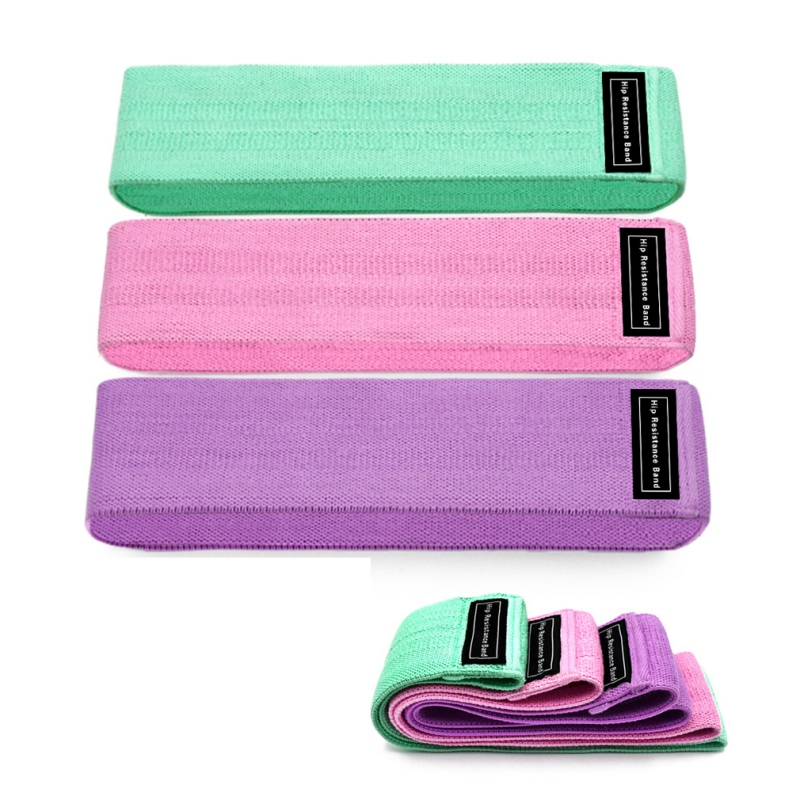 Exercise Bands For Legs Thigh Glute Unisex Booty Band Hip Circle-Loop Resistance Band Fitness Workout Non-slip NEW!