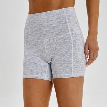 Nepoagym damskie krótkie Legging damskie sportowe krótkie joga letnie szybko schnące szorty tanie i dobre opinie NYLON spandex WOMEN Stałe Suknem Pasuje prawda na wymiar weź swój normalny rozmiar