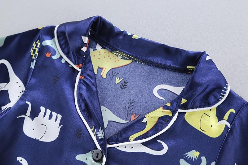 2020 Popular Home Clothes Children's Pajamas Children's Clothes Long Sleeves Kids Pajamas Kids Clothes 3