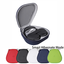 Portable Headphone Storage Bag For AirPods Max Smart Hibernate Mode Shockproof Travel Carrying Case Headset Cover Hard Box