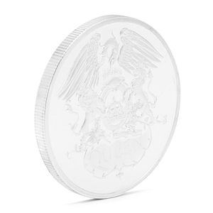 Королевская британская рок-группа Посеребренная памятная монета жетон коллекционный подарок