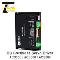 Leadshine DC Servo Motor Driver ACS306 ACS606 ACS806 Input Voltage DC 18-80V 200-400W 6A for CNC Engraver and Cutting Machine
