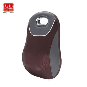 Image 1 - KIKI NEWGAIN 2018 new style 3D Hot Sell Wireless Home and Car Full Body Shiatsu rechargeable Kneading Massage Cushion