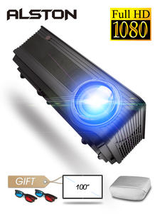 Cinema Proyector Android-Wifi Bluetooth Hdmi M5W 6500 Lumens Full-Hd 4K Beamer VGA AV
