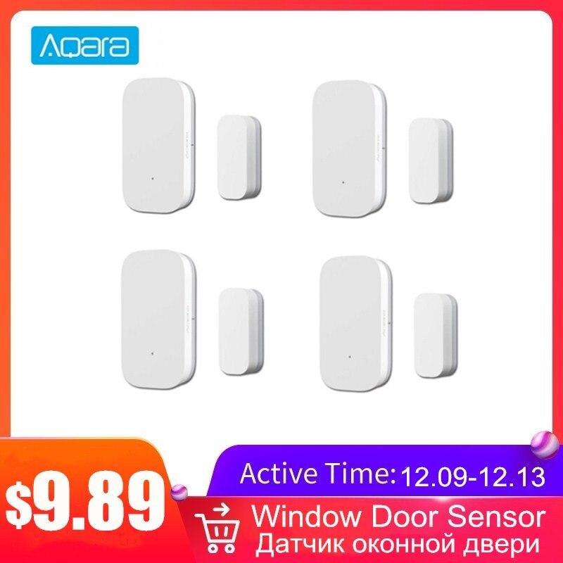 Aqara Window Door Sensor Smart Home Security Equipment Mini Magnet Door Sensor With ZigBee Wireless Connection Use Mi Home APP