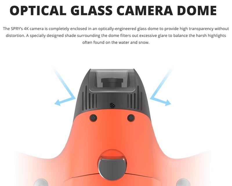High-end underwater drone