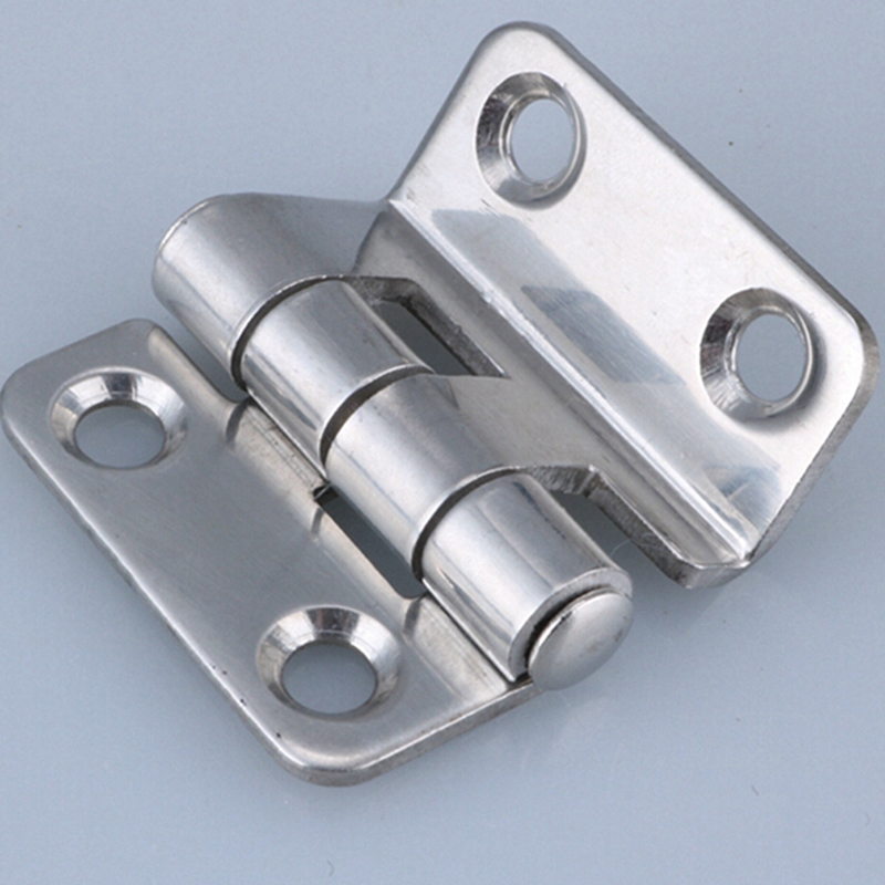 Stainless Steel Distribution Box Switch Cabinet Door Hinges Right Angle Bend High And Low Voltage Cabinet Hinge Industrial Hinge
