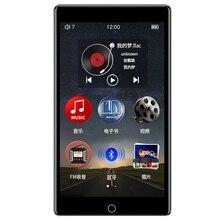 RUIZU – lecteur MP3 H1 avec écran tactile 4.0 pouces, Bluetooth, musique, avec Radio FM, enregistrement, vidéo, E book, haut parleur intégré