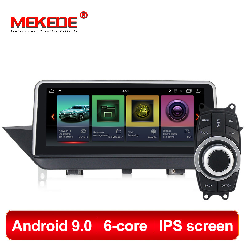MEKEDE IPS screen 10.2'' 4GB+32GB android 9.0 Car DVD Multimedia player for BMW X1 E84 2009 2015 iDrive with gps navigation WIFI-in Car Multimedia Player from Automobiles & Motorcycles    1