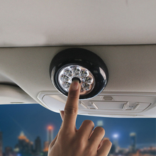 Car Ceiling Light Automobile Reading Multi purpose Light Night Lamp LED Car Interior Lights for Home Car without Battery (Black)